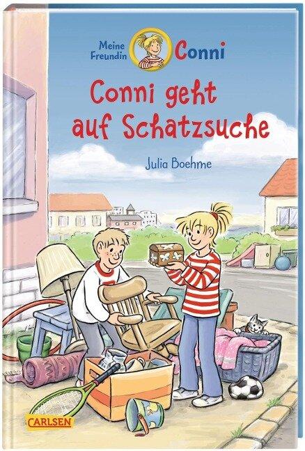 Conni-Erzählbände 36: Conni geht auf Schatzsuche - Julia Boehme