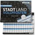 """STADT LAND VOLLPFOSTEN® - BLUE EDITION - """"Wissen ist Macht"""" - Ricardo Barreto, Denis Görz"""