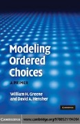 Modeling Ordered Choices - William H. Greene, David A. Hensher