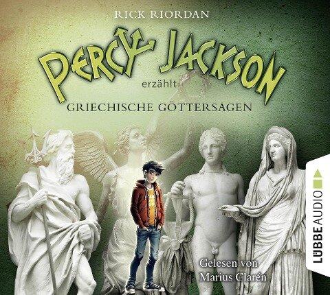 Percy Jackson erzählt: Griechische Göttersagen - Rick Riordan, Sebastian Danysz