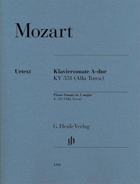 Klaviersonate A-dur KV 331 - Wolfgang Amadeus Mozart