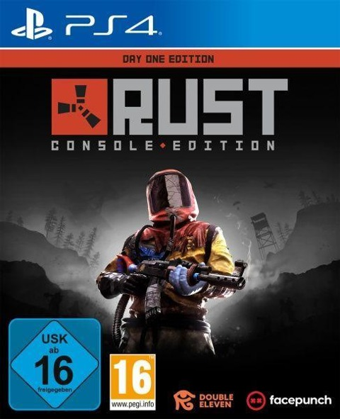 Rust Day One Edition (PlayStation PS4) -