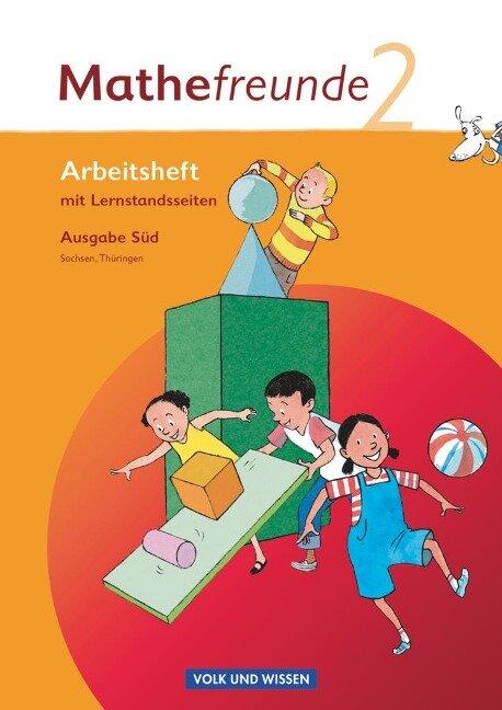 Mathefreunde 2. Schuljahr. Süd. Arbeitsheft. Sachsen, Thüringen -