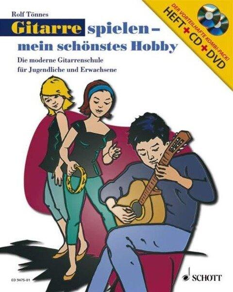 Gitarre spielen - mein schönstes Hobby. Set - Rolf Tönnes