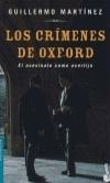 Los crimenes de Oxford - Guillermo Martinez