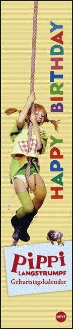 Pippi Langstrumpf Geburtstagskalender long -