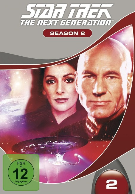 STAR TREK: The Next Generation - Season 2 (6 Discs, Multibox) -