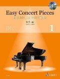 Easy Concert Pieces. Band 1. Klavier. Ausgabe mit CD -