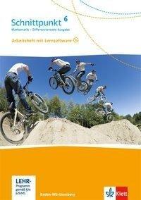 Schnittpunkt Mathematik - Differenzierende Ausgabe für Baden-Württemberg. Arbeitsheft mit Lösungsheft und Lernsoftware 6. Schuljahr -
