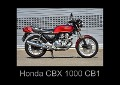 Honda CBX 1000 CB1 (Posterbuch DIN A4 quer) - Ingo Laue