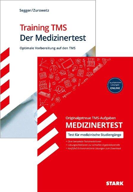 STARK TMS - Der Medizinertest - Training TMS + Originalgetreue TMS-Aufgaben - Felix Segger, Werner Zurowetz