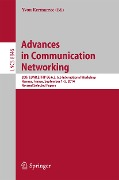 Advances in Communication Networking -