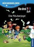 Die drei ??? Kids, Bücherhelden, Die Räuberjagd - Ulf Blanck, Boris Pfeiffer