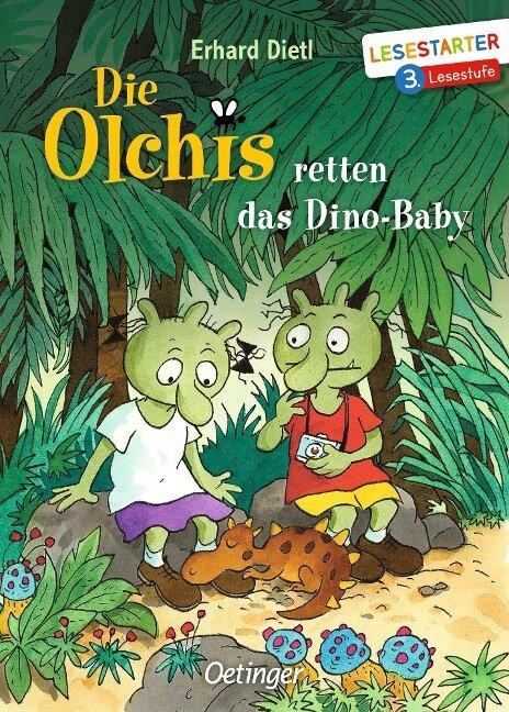 Die Olchis retten das Dino-Baby - Erhard Dietl