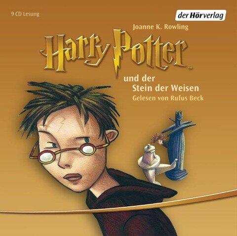 Harry Potter 1 und der Stein der Weisen - Joanne K. Rowling