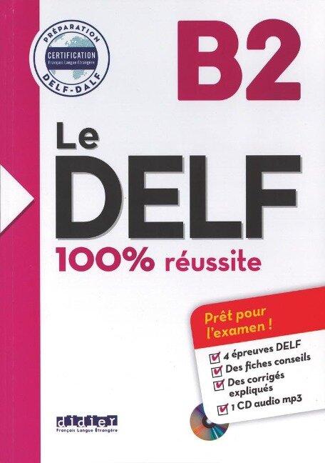 Le DELF B2 - Buch mit MP3-CD - Sylvie Germain