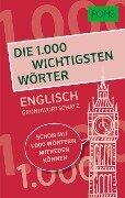 PONS Die 1.000 wichtigsten Wörter - Englisch Grundwortschatz -