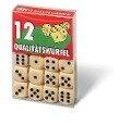 12 Qualitätswürfel in Klarsichtbox. FXS Würfeln/ Zubehör -