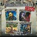 Gruselkabinett, Box 18: Folgen 69, 70, 71, 72 - William Hope Hodgson, Robert E. Howard, M. R. James, Robert Louis Stevenson