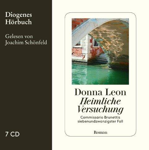 Heimliche Versuchung - Donna Leon