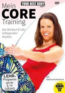 Mein Core Training (DVD + CD) - Nadine Kortenbruck