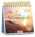 365 Tage Gelassenheit 2019. Postkartenkalender -