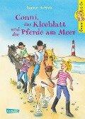 Conni & Co 11: Conni, das Kleeblatt und die Pferde am Meer - Dagmar Hoßfeld