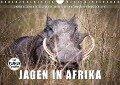 Emotionale Momente: Jagen in Afrika. (Wandkalender 2017 DIN A4 quer) - Ingo Gerlach