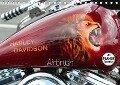 Harley Davidson - Airbrush (Tischkalender 2019 DIN A5 quer) - Matthias Brix - Studio Brix