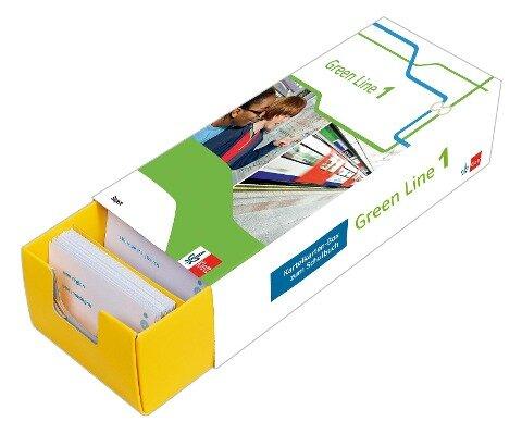 Vokabel-Lernbox zum Schulbuch. Green Line 1. Bayern. Klasse 5 -