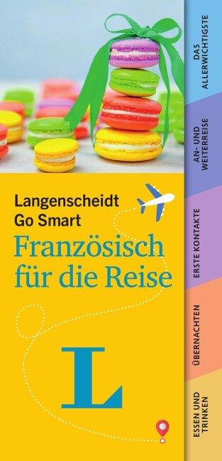 Langenscheidt Go Smart - Französisch für die Reise. Fächer -