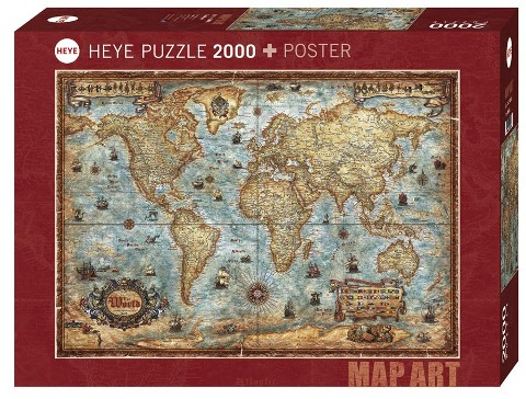 The World Puzzle 2000 Teile - Rajko Zigic