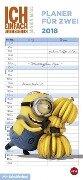 Minions Planer für zwei - Kalender 2018 -