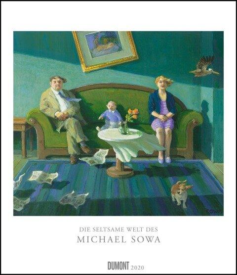Die seltsame Welt des Michael Sowa 2020 - Wandkalender im Format 34,5 x 40 cm - Spiralbindung -