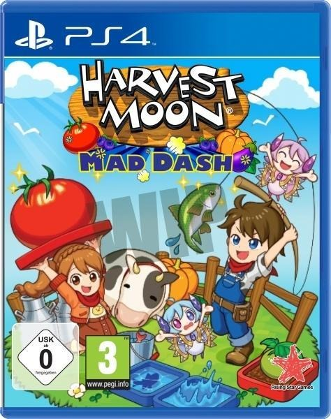 Harvest Moon Mad Dash (PlayStation PS4) -