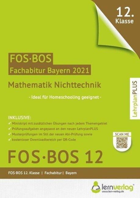 Abiturprüfung Mathematik Nichttechnik FOS/BOS Bayern 12. Klasse -