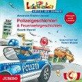 Lesepiraten spitzt die Ohren. Polizeigeschichten & Feuerwehrgeschichten - Alexandra Fischer-Hunold, Beatrix Mannel