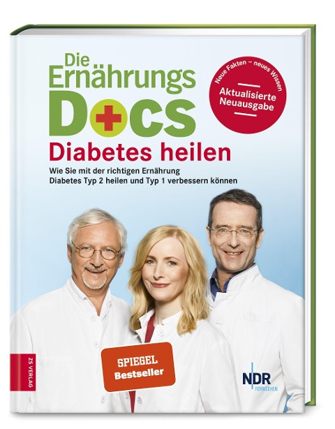 Die Ernährungs-Docs - Diabetes heilen - Matthias Riedl, Anne Fleck, Jörn Klasen