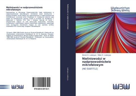 Nieliniowości w nadprzewodnictwie mikrofalowym - Dimitri O. Ledenyov, Viktor O. Ledenyov