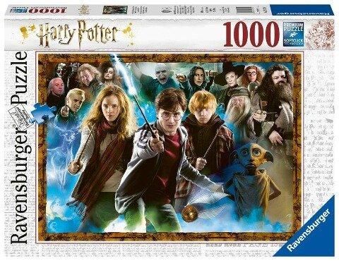 Der Zauberschüler Harry Potter - Puzzle mit 1000 Teilen -