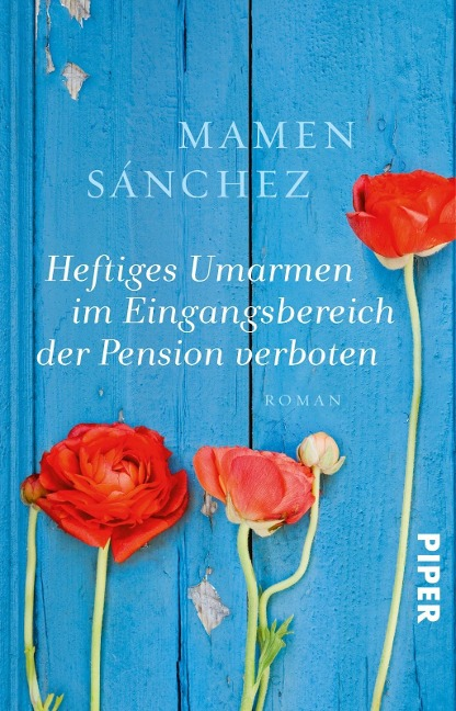 Heftiges Umarmen im Eingangsbereich der Pension verboten