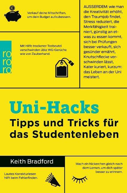 Uni-Hacks - Keith Bradford