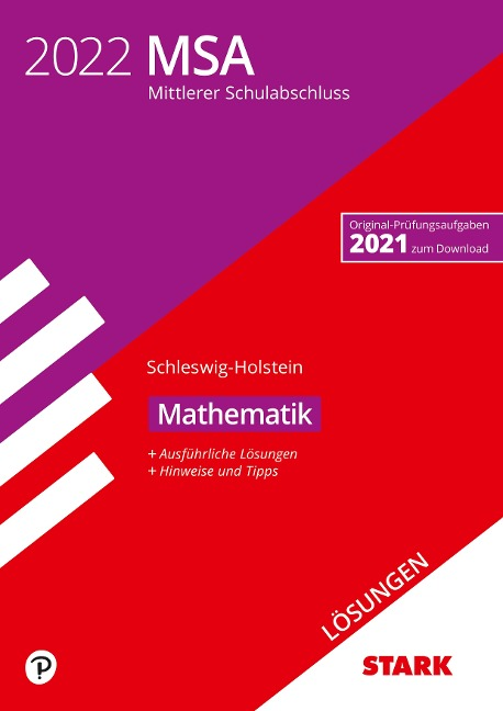 STARK Lösungen zu Original-Prüfungen und Training MSA 2022 - Mathematik - Schleswig-Holstein -