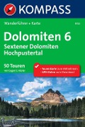 Kompass Wanderführer Dolomiten 6, Sextener Dolomiten, Hochpustertal - Eugen E. Hüsler