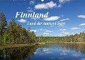Finnland - Land der tausend Seen (Wandkalender 2019 DIN A2 quer) - Anja Ergler