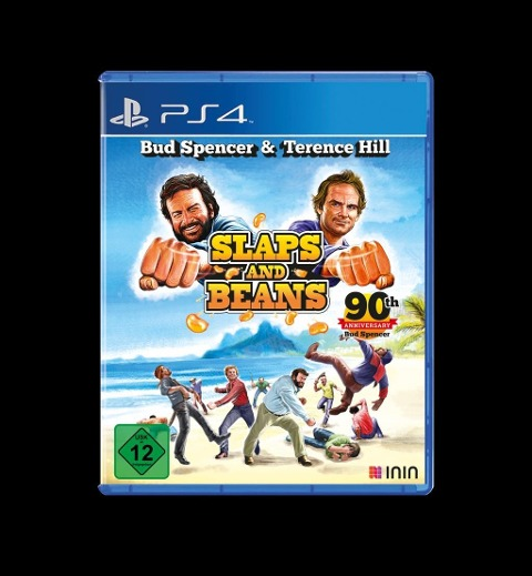Bud Spencer & Terence Hill Slaps and Beans. Anniversary Edition (PlayStation PS4) -