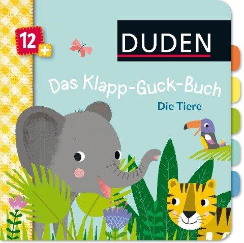 Duden 12+: Das Klapp-Guck-Buch: Die Tiere - Susanne Weber