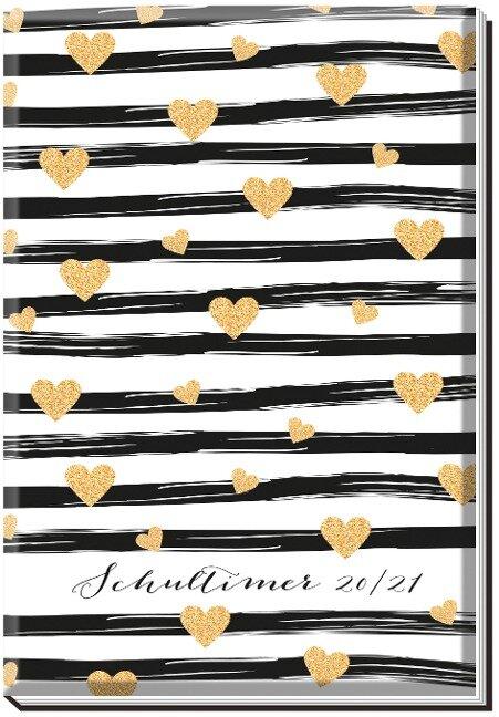Trötsch Schülerkalender Goldheart 2020/2021 -