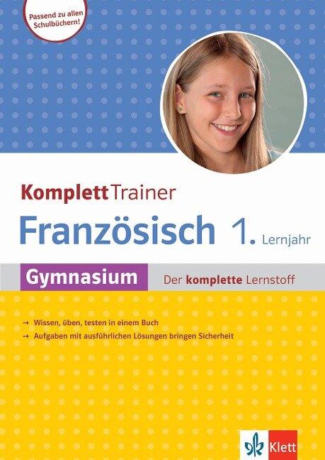KomplettTrainer Gymnasium Französisch 1. Lernjahr -