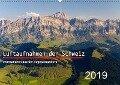 Luftaufnahmen der Schweiz (Wandkalender 2019 DIN A2 quer) - Tis Meyer